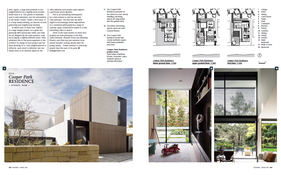 Cooper park residence featured in houses australia 39 s for Home design articles