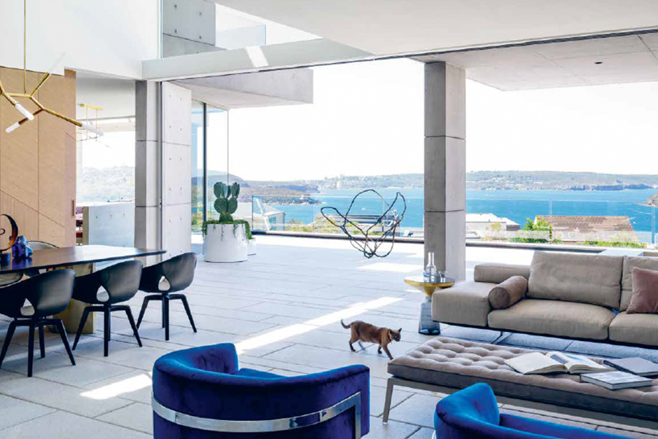 Mosman house featured in #35 of Habitus Living Magazine.